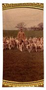 Walking The Hounds Hand Towel