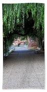 Walkway By The River Bath Towel