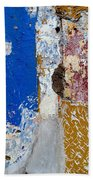 Wall Abstract 142 Bath Towel