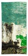 Wall Abstract 166 Bath Towel
