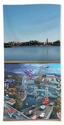 Walt Disney World Cars 2 Digital Art Composite 02 Bath Towel