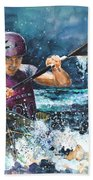 Water Fight Bath Towel