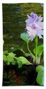 Water Hyacinth Float Bath Towel