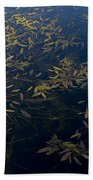 Water Leaves Bath Towel