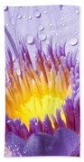 Water Lilly Bath Towel