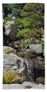 Water On The Rocks Bath Towel