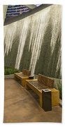 Water Wall - Aria Resort Las Vegas Bath Towel