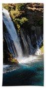 Waterfall And Rainbow 4 Bath Towel