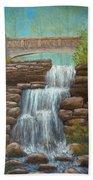 Waterfall At East Hampton Bath Towel
