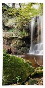 Waterfall At Roughting Linn Bath Towel