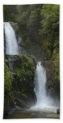 Waterfall, Chile Bath Towel