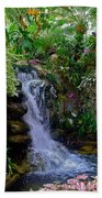 Waterfall Garden Bath Towel