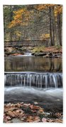 Waterfall - George Childs State Park Bath Towel
