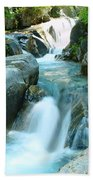 Waterfall Near Paradise Bath Towel