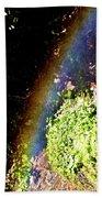 Waterfall Rainbow Bath Towel