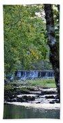 Waterfalls At Dusk 2012 Bath Towel