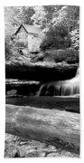 Waterfalls Mill Black N White Bath Towel