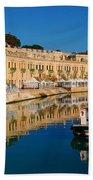 Reflect In Valletta Malta Bath Towel