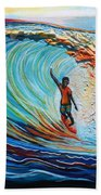 Wave Surfer Bath Towel