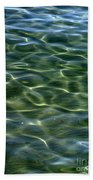 Waves On Lake Tahoe Bath Towel