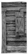 Weathered Door And Window 1 Bath Towel