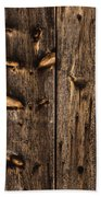 Weathered Wooden Abstracts - 3 Bath Towel