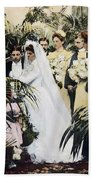 Wedding Party, 1900 Bath Towel