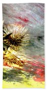 Weed Abstract Blend 2 Bath Towel