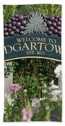 Welcome To Edgartown Bath Towel