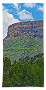 Welcoming Mesa To Mesa Verde National Park-colorado- Bath Towel