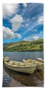 Welsh Boats Hand Towel