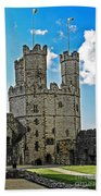 Welsh Castle Bath Towel