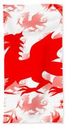 Welsh Dragon Bath Towel