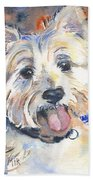 West Highland Terrier Bath Towel