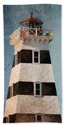 West Point Lighthouse 7 Bath Towel