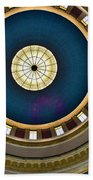 West Virginia State Capital Dome Hdr Bath Towel