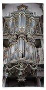 Westerkerk Organ In Amsterdam Hand Towel