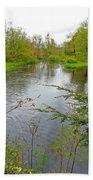 Wetland Greens Bath Towel