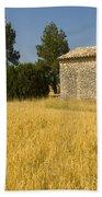 Wheat Field, France Bath Towel