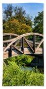 Wheaton Northside Park Bridge Hand Towel