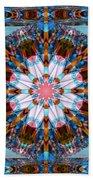 Wheel Kaleidoscope Bath Towel