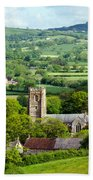 Whitchurch Canonicorum Overview  Bath Towel