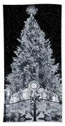 White Christmas In Texas Bath Towel