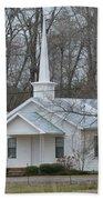White Country Church Series Photo B Bath Towel