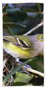 White-eyed Vireo Bath Towel