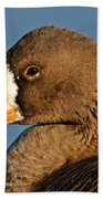 White-fronted Goose Bath Towel