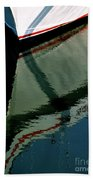 White Hull On The Water Hand Towel