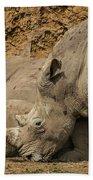 White Rhino 2 Bath Towel