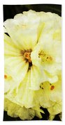 White Rhododendrons Bath Towel