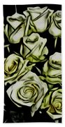 White Roses - Moving On Hand Towel